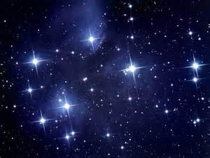 Gazing at the stars.
